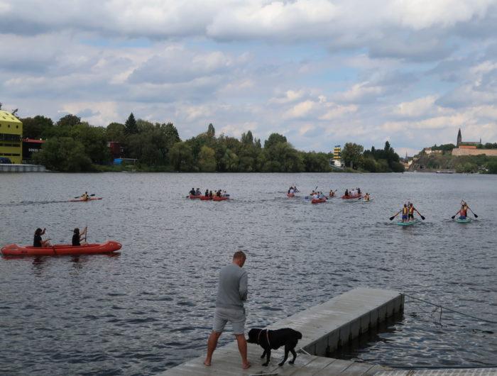 pražská regata detský sportovní den