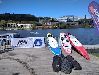 Pražská regata půjčení paddleboard na místě